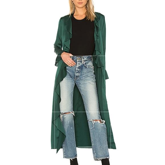 Tularosa Jackets & Blazers - Maxi Length Kimono Style Robe/Duster